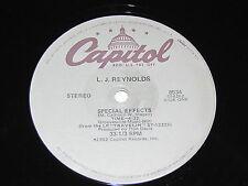 """L.J. REYNOLDS Special Effects / You've Got It 12"""" Capitol Records Vinyl 1982 LP"""