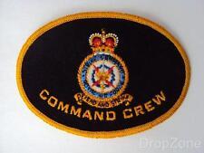 Queen's Corona RAF aeronautica Command Girocollo Distintivo / Toppa