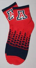 NCAA Arizona Wildcats Digital Squares Socks LRG