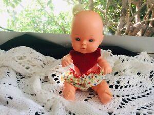 Little Vintage BaBy Doll ESTRELA Brazil. 1970/80s Original Clothes, So Cute..vgc