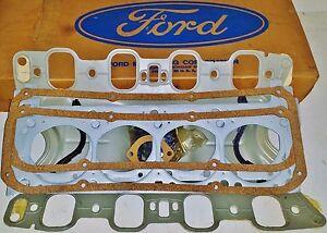 NOS 351C 4V CJ Boss HO Valve Grind Gasket Set Mustang Boss Pantera Torino Cougar