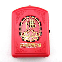 Mini Buddhist Pray Scriptures Music Machine  Buddha Music Songs With 6/8/12 Kind