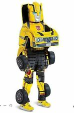 Transformers Child Bumblebee Size M 7/8 Boys Converting Costume Disguise 7et8zp1