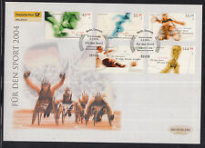 K 01 ) Germany 2004 beautiful Large FDC -  World Championships + Olympic Games
