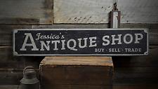Antique Shop, Antique, Custom Antique - Rustic Distressed Wood Sign ENS1001396