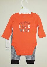 Carters My First Halloween Infant Bodysuit & Leggings Outfit (SIZE 3 Months)