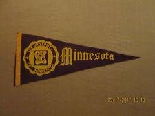 Ncaa The University Of Minnesota Vintage Circa 1960's Style#2 College Pennant