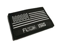 """The 3x2"""" Empire Tactical F*** ISIS Terrorism military Morale (hook/loop) Patch"""