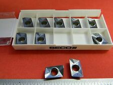 Seco 44652 XOMX180608TR-MD15 MP3000 Carbide Milling Inserts Qty. 10