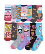 NEW Shoe Size 4-10 Pink Cookie Girls Knee High Dog//Hearts//Crowns 3 Pr Socks