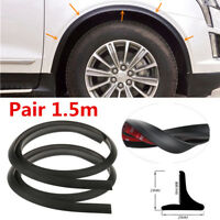 2x LEFT/&RIGHT Car Front Wheel Fender Air Vent Cover Trim For 08-15 Lancer EVO X