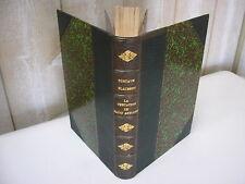 Gustave FLAUBERT : LA TENTATION DE SAINT ANTOINE1874 2e édition