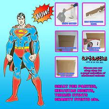 Classico Stile Fumetti Superman sagome di cartone a grandezza naturale sagoma in stand-up DC Comics