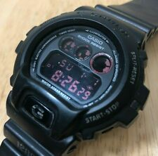 Vintage Casio DW-6900MS Mod 1289 G-Shock Men 200m Digital Watch Hour~New Battery