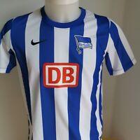 maillot  de football HERTA BERLIN   taille 13/15 ANS NIKE  foot 2012