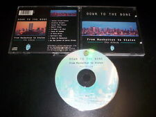Down To The Bone ‎– From Manhattan To Staten - The Album CD Internal bass 1996