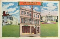 Washington, DC 1940s Postcard: Olmsted's Restaurant, 1336 G St. NW - DOC