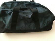 "LARGE LL BEAN Adventure Duffle Travel Bag Weather Resistant Blue 28"" 0V274"