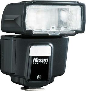 NISSIN i40 Compact Flashgun for Canon DSLR (UK Stock) BNIB