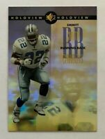 1996 SP Holoview EMMITT SMITH #21, Dallas Cowboys HOF