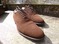 CHURCH OXFORD – BROWN SUEDE - UK 8.5 – ILFORD – SUPERB CONDITION