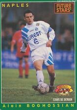 N°227 BOGHOSSIAN # FRANCE FUTURE STARS SSC.NAPOLI CARD CARTE PANINI FOOT 1995