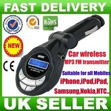 Nouvelle Voiture MP3 Sans Fil Radio FM émetteur pour iPhone iPod 5 ipad 1 2 3 4 Mini UK