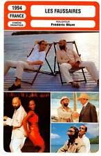 FICHE CINEMA : LES FAUSSAIRES - Jugnot,Barr,Lazlo,Blum 1994 The Impostors