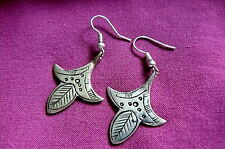 BOUCLES D'OREILLES TOUAREG.ARGENT SILVER.BOUCLES TRIBAL EARRINGS