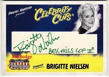 "2011 DONRUSS INSCRIPTION AUTO:BRIGITTE NIELSEN #/20 AUTOGRAPH""BEVERLY HILLS COP"""