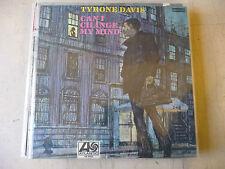 "TYRONE DAVIS""CAN I CHANGE MY MIND-disco 33 giri ATLANTIC Italy 1968"" RARE"