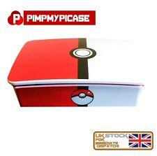 Raspberry Pi 3 White case Retro style Pokeball  (Use with Retropie or Kodi)