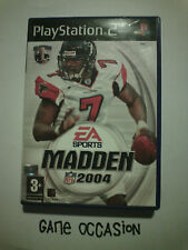 MADDEN NFL 2004 PS2 PLAYSTATION 2 SONY COMPLETE PAL