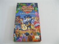 A Hollywood Hounds Christmas VHS Cassette Tape - DIC Video 1994 - Free Shipping