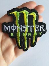 "Monster Energy Logo 3"" Decal Iron On Patch Embroidery Fabric M"