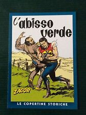 L'ABISSO VERDE  C21 Le Copertine Storiche ZAGOR  card PANINI