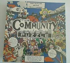 Biggwood The Community Puzzle 48 Blank White Paintable Pieces