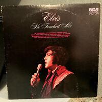 "ELVIS PRESLEY - He Touched Me (RCA LSP-4690) - 12"" Vinyl Record LP - VG+"