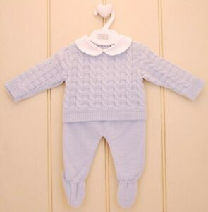 Pex Francis Spanish Knit Suit - NB to 6-9mths