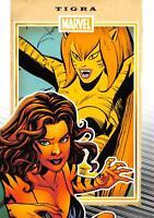 TIGRA / Marvel 75th Anniversary (2014) BASE Trading Card #83