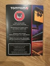 TOMTOM 1 Year SAFETY SPEED CAMERA FIXED CAMERA UK & Europe PRE PAID CARD