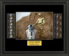 Star Wars Mounted Framed Film Cell Memorabilia Double Presentation FC01 Jedi