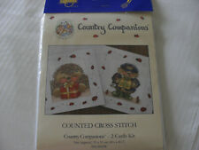 New listing Pack of Two Country Companions Card Kits - BNIB