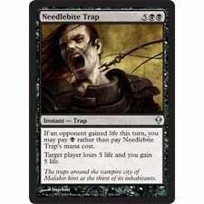 MTG ZENDIKAR * Needlebite Trap (foil)