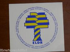 sticker EUROPEAN LIBERAL DEMOCRATIC AND REFORM PARTIES adesivo Liberali Riforma