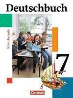 Deutschbuch - Gymnasium - Allgemeine Ausgabe: 7. Schuljahr - Schülerbuch: Sprach