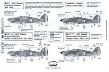 Berna Decals 1/32 HAWKER HURRICANE Mk.I French GC1 Alsace Squadron