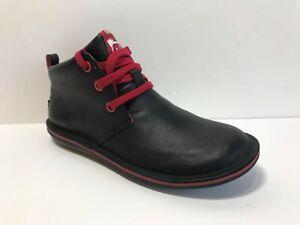 New Camper 'Beetle Kids' Boots US 3 /  EU 34 in Black/Red