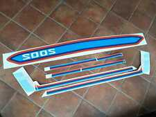 BMW 2002 1802 1602 DECAL KIT FULL STICKER SET SIDE STRIPES BUMPER E10 TURBO LOOK