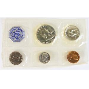 1955 P Philadelphia United States Mint Proof Set 5 Coins No Envelope